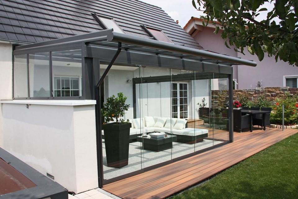 glas overkapping zonwering van der zalm. Black Bedroom Furniture Sets. Home Design Ideas